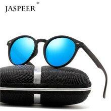 JASPEER Men Polarized Sunglasses Outdoor Sports Round Sun Glasses Women Travel Driving PC Frame UV400 Eyeglasses цена