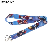 DMLSKY Kikis Delivery Service Lanyard Keychain Anime Lanyards for keys Badge ID Mobile Phone Rope Neck Straps Gifts M3865