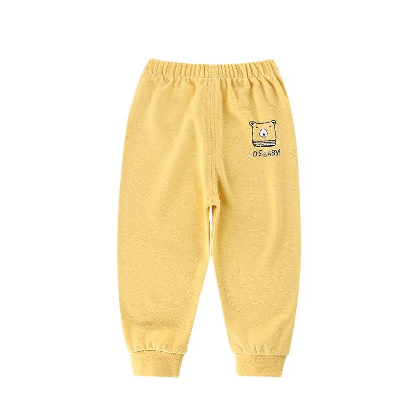 Kids Pants Cartoon Girls Pants For Boy Cotton Silk Breathable Anti-mosquito Harem Casual Long Pants Children Trousers