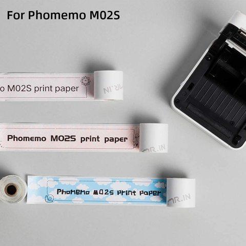 x 35m para phomemo m02s impressora de