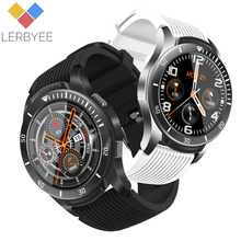 Lerbyee Fitness Watch GT106 Waterproof Blood Pressure Full Screen Touch Smart Watch Music Control Smartwatch New for iOS Android