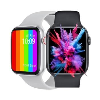 Original W46 W26 W56 Smart Watch 2021 LEMFO Series 6 Women Smartwatch ECG Heart Rate Body Temperature For Android Apple Xiaomi 1