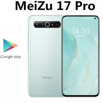 """DHL szybka dostawa Meizu 17 Pro 5G inteligentny telefon Snapdragon 865 ekran linii papilarnych 6.6 """"90HZ 2340X1080 64,0mp 12GB RAM 256GB ROM"""