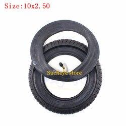 10-дюймовая пневматическая шина, внутренняя труба 10x2,50, подходит для электрического скутера, балансировочный привод, велосипедная шина 10x2,5 с...