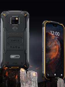 DOOGEE Helio P70 S68 Pro Rugged Phone 128GB 6GB GSM/WCDMA/LTE NFC Adaptive Fast Charge