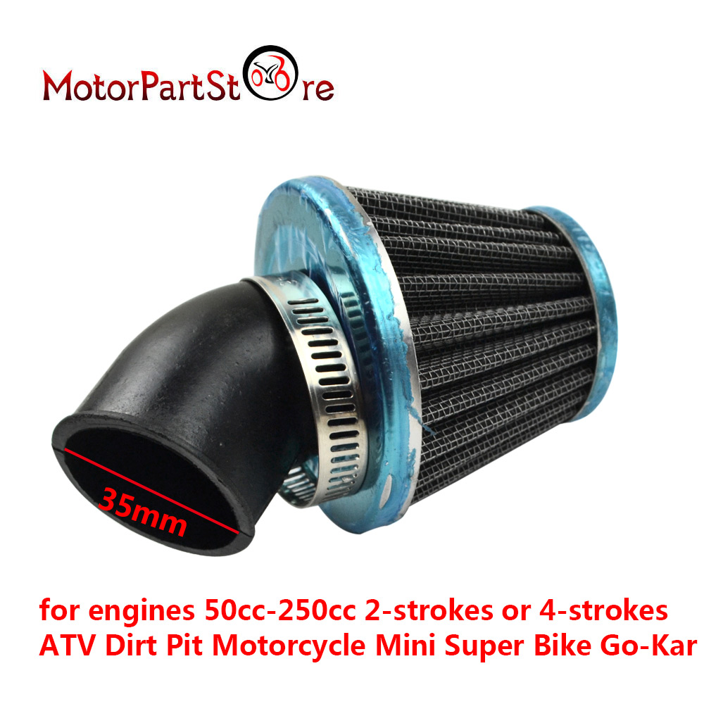 FLYPIG New 35mm Air Filter Cleaner Mushroom Fit For 70cc 90cc 110cc 125cc Go Kart ATV Dirt Pit Bike Motorcycle Parts