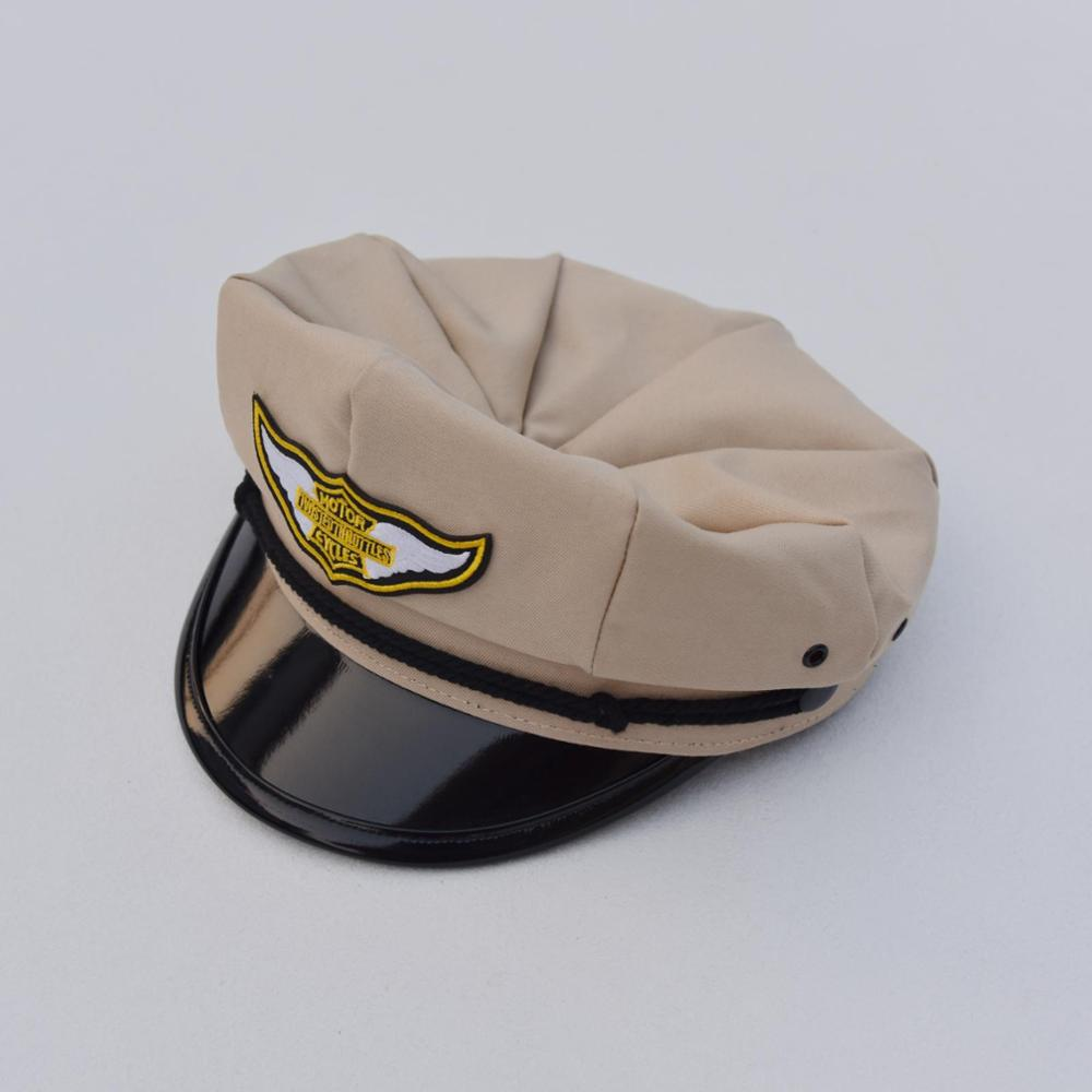 BOB DONG Retro Motorcycle Hats Twisted Throttles Patch Biker Cap
