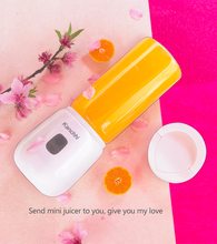 Portable Juicer USB Rechargeable Smoothie Blender Machine Mixer 304 stainless steel 6 high borosilicate glass Mini Juice Cup