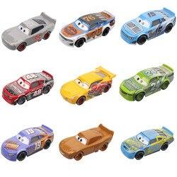 Car Disney Pixar Cars 2 3 Lightning McQueen Mater Jackson Storm Ramirez 1:55 Diecast Vehicle Metal Alloy Boy Toys Christmas Gift