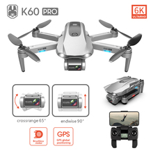 Helicopter Drones K60PRO Brushless Folding Dual-Camera Professional Photography GPS 6K