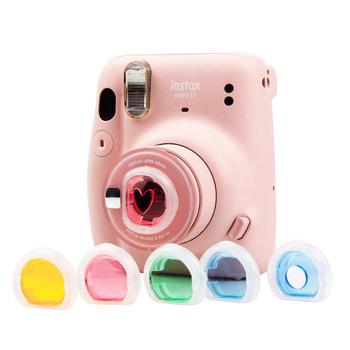 Filtr aparatu do Fujifilm Instax Polaroid Mini11 Mini 11 mały świeży filtr kolorów sześciu zestaw akcesoriów do obiektywów o wysokiej jakości tanie i dobre opinie YIFILM BŁYSKAWICZNY APARAT FOTOGRAFICZNY CN (pochodzenie) torby na ramię Other For Fujifilm Instax Polaroid mini11 Polarizer Filter
