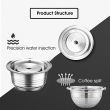 Refillable Capsule Espresso REUSABLE-FILTER Vertuo Stainless-Steel G2 Ods