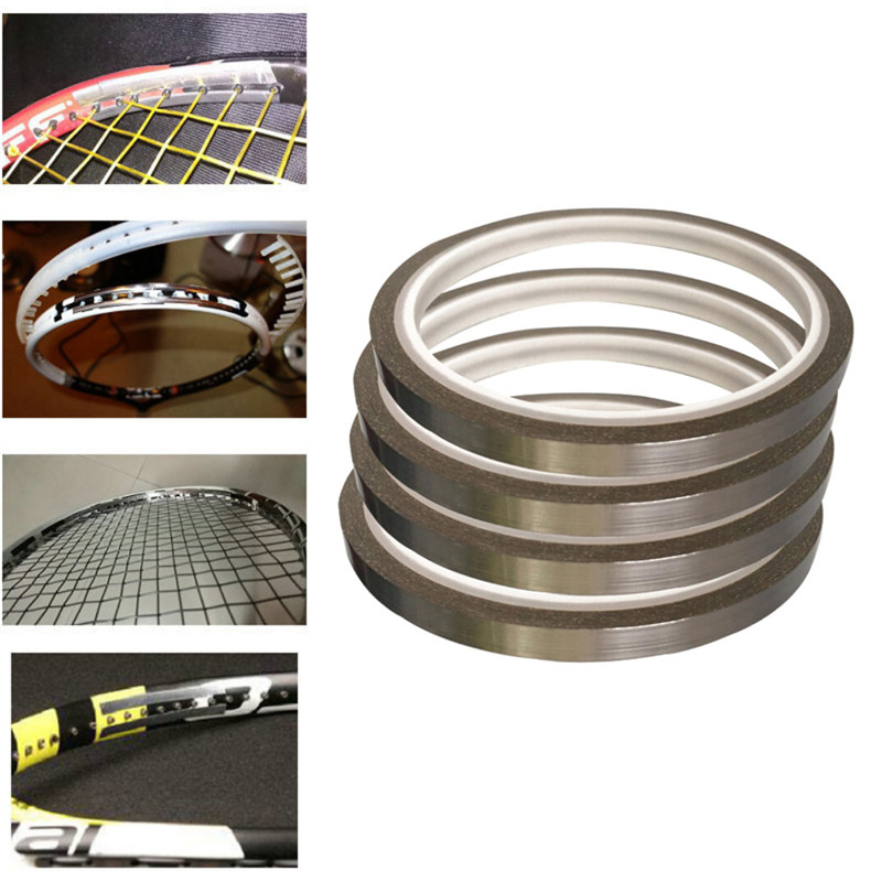 1 Roll 4 Meters 0.18mm Thick Weighted Lead Tape Sheet Sticker Balance Strips Aggravated For Tennis Badminton Racket Golf Clubs