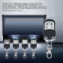 Remote Control 4 Channel Garage Gate Door Opener Remote Control Duplicator Clone Cloning Code Car Key 433MHZ Clone Learning