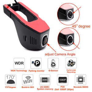 Image 5 - XCGaoon Wifi Car DVR Registrator Digital Video Recorder Camcorder Dash Camera 1080P Night Version Novatek 96655, Cam Can Rotate