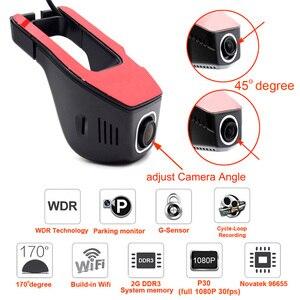 Image 5 - XCGaoon واي فاي جهاز تسجيل فيديو رقمي للسيارات مسجل فيديو رقمي كاميرا داش كاميرا 1080P ليلة الإصدار نوفاتيك 96655 ، كام يمكن تدوير
