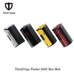 Электронные сигареты ThinkVape Finder 250C 300 Вт бокс-мод Think Vape с тройной батареей 18650 Evolv DNA 250C чип Vape испаритель