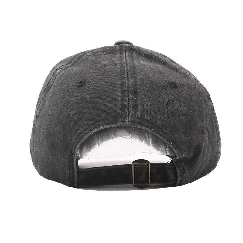 Yüksek kalite yıkanmış pamuk ayarlanabilir tek renk beyzbol şapkası Unisex çift kap moda eğlence baba şapka Snapback kap
