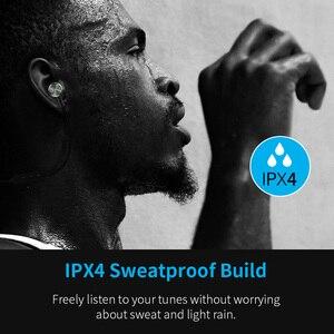 Image 4 - Bluetooth ワイヤレスヘッドフォン磁気スポーツイヤホン sweatproof CVC6 ロスレスステレオイヤフォンノイズマイク