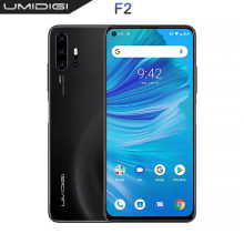 "UMIDIGI F2 Globale version 6GB 128GB NFC Android 10 6,53 ""FHD 32MP Selfie Helio P70 48MP AI Quad Kamera handy 5150mAh(China)"