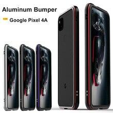Funda protectora de Metal para Google Pixel 4A, carcasa Original brillante de aleación de aluminio para Google pixel 4a 5g