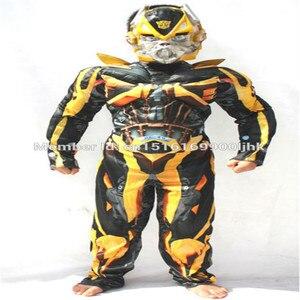 Image 4 - 2020 костюм супергероя из фильма Оптимус Прайм бумблби мускул для костюмированной вечеринки Детский костюм на карнавал, Хэллоуин, подарки