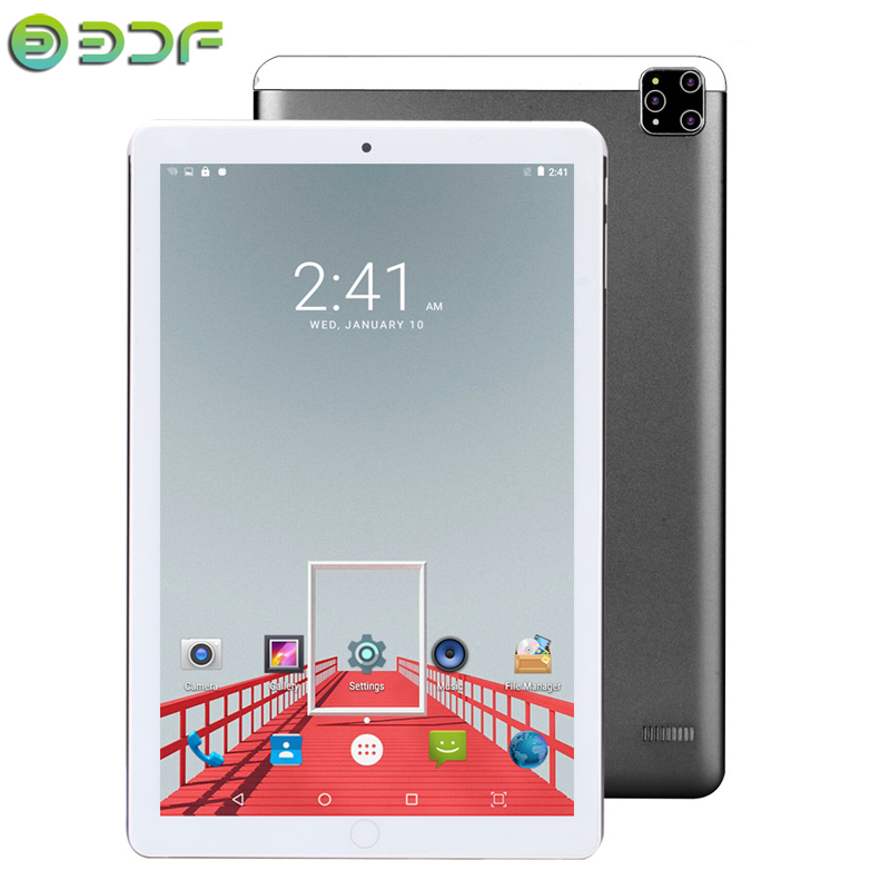2020 Latest Tablet 10.1 Inch Tablets Android 7.0 Quad Core 3G Phone Call  Wi-Fi Bluetooth 4.0 Dual SIM Super Memory Tablet PC