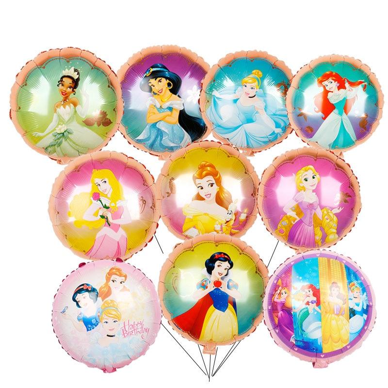Надувные гелиевые шары для девочек, 15 шт., 18 дюймов
