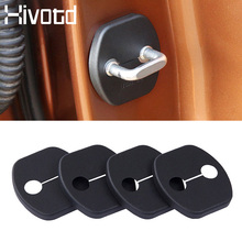 Hivotd For Nissan Qashqai j11 Dualis X-trail 2019 Car Door Lock Protection Cover Limiter Stop Waterproof Exterior Accessories
