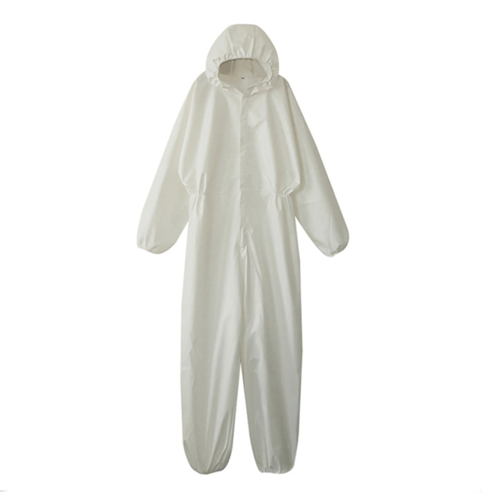 Disposable Waterproof Oil-Resistant Protective Coverall For Spary Painting Decorating Clothes Overall Suit Workwear Clothing