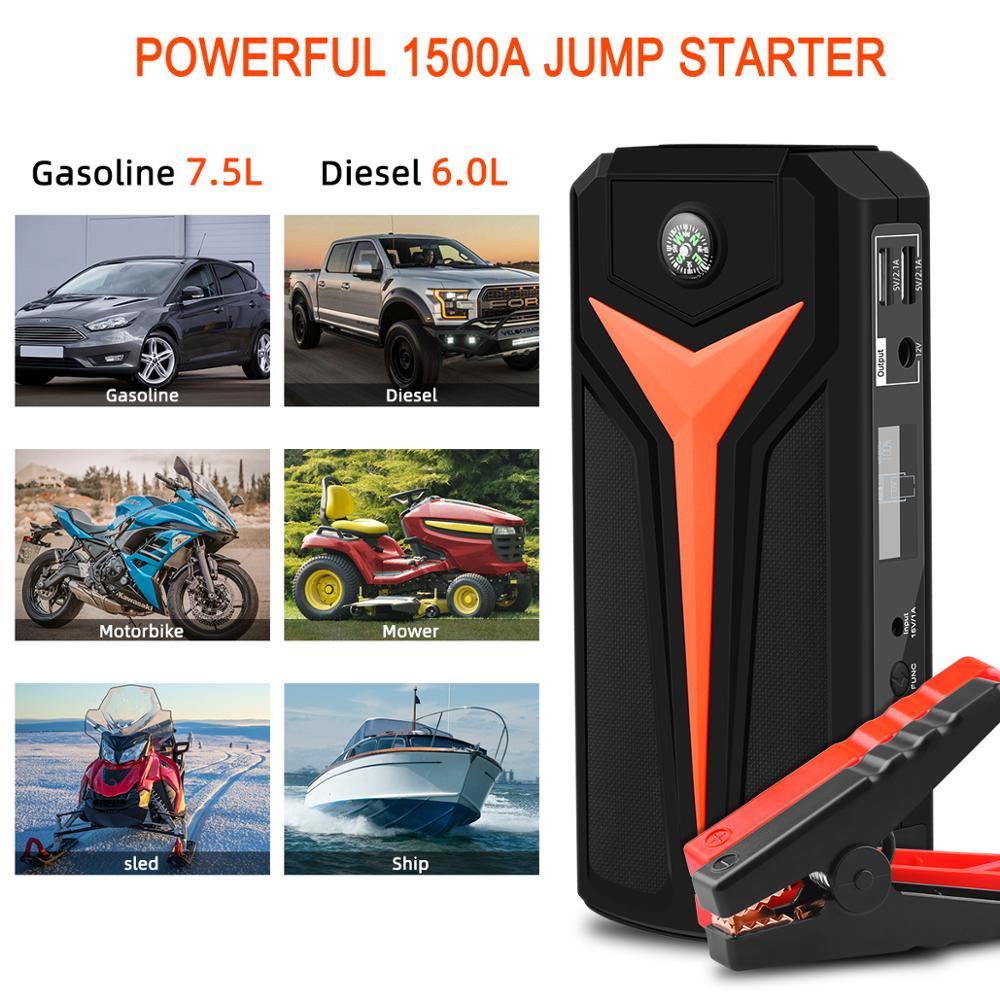 Car Jump power bank Device Vehicle Emergency Start  2