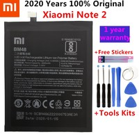 Batteria Del Telefono per Mi Note2 Batteria originale Xiaomi Mi Nota 2 BM48 Batterie Bateria per Xiaomi Note2 + Strumenti Regalo + adesivi