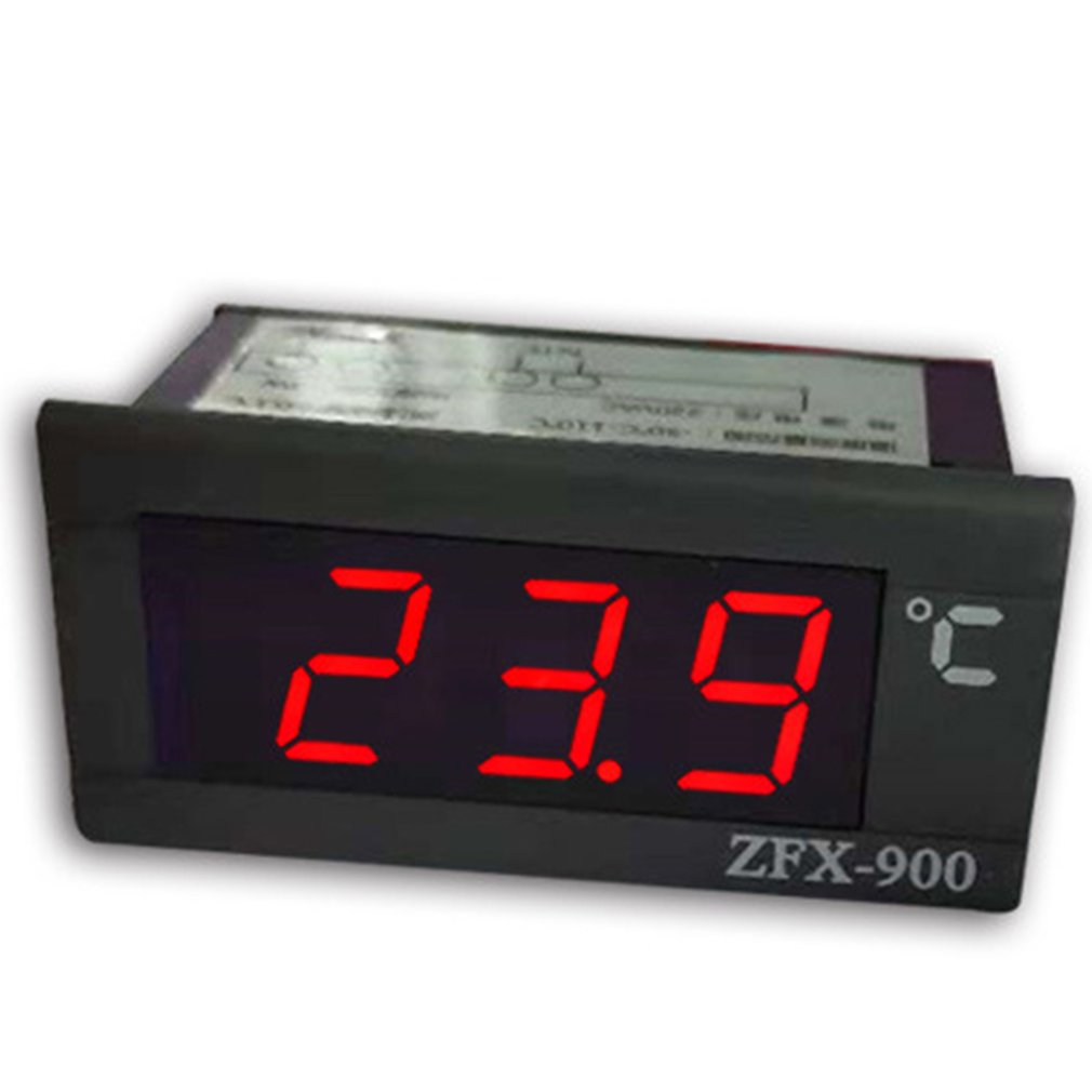 ZFX-900 LED Display Digital Thermometer LED Temperature Monitor Fridge Freezer Water Tanks Probe Sensor 220v AC