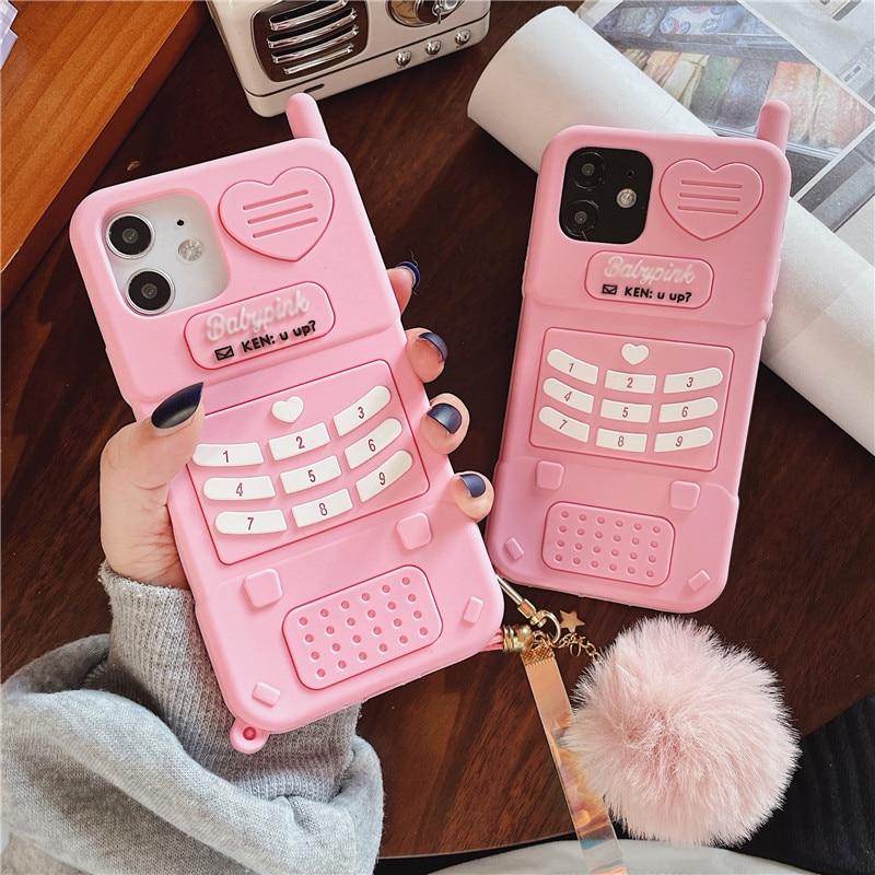 Pink Retro iPhone Case  2