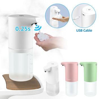Automatic Soap Dispenser Touchless USB Charging Smart Foam Machine Infrared Sensor Hand Free Soap Liquid Dispenser Sanitizer 1