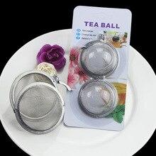 304 нержавеющая сталь чайный шар вареный чай тушеный горячий горшок шарик для приправы Многофункциональный Чайный фильтр кухонные принадлежности