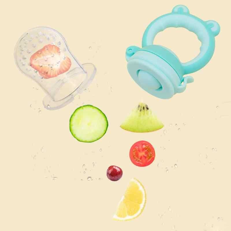 Fruta fresca comida niños tetina de alimentación alimentador de leche Dummy Baby chupete botellas pezón mordisqueador de fruta fresca alimentación de alimentos para niños