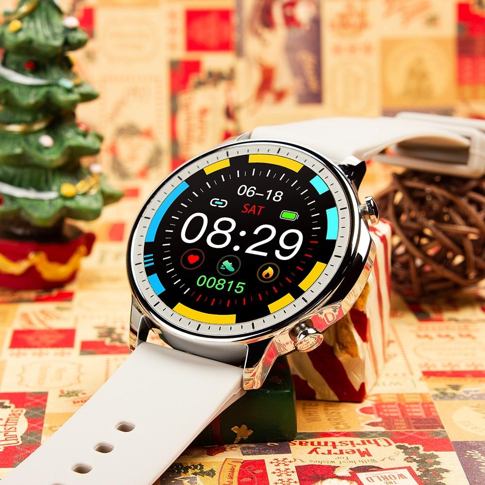 Hbc62f22e868747e0b71018ae38c11ea0H COLMI V23 Women Smart Watch Full Touch Fitness Tracker IP67 Waterproof Blood Pressure Smart Clock Men Smartwatch