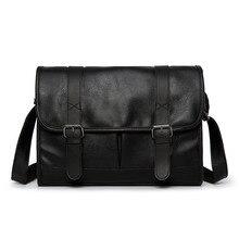Fashion Man Leather Shoulder Bags Travel Bag Men Briefcase Brand Luxury Messenge