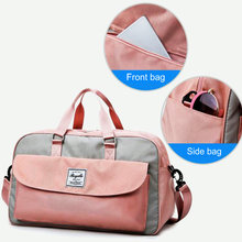 цена на Women Travel Sport Duffel Bag Oxford Men Gym Training Bag Outdoor Travl Sports Carry On Gym bag Large Capacity Yoga Storage Bags