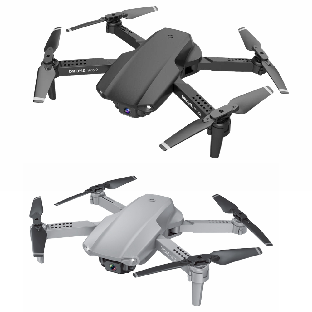 2020 NEW E99 Pro2 Drone 4K HD FPV Wide Angle  Profession  Dual Camera Hight Hold Optical Flow Foldable RC Quadcopter Dron Toys 6
