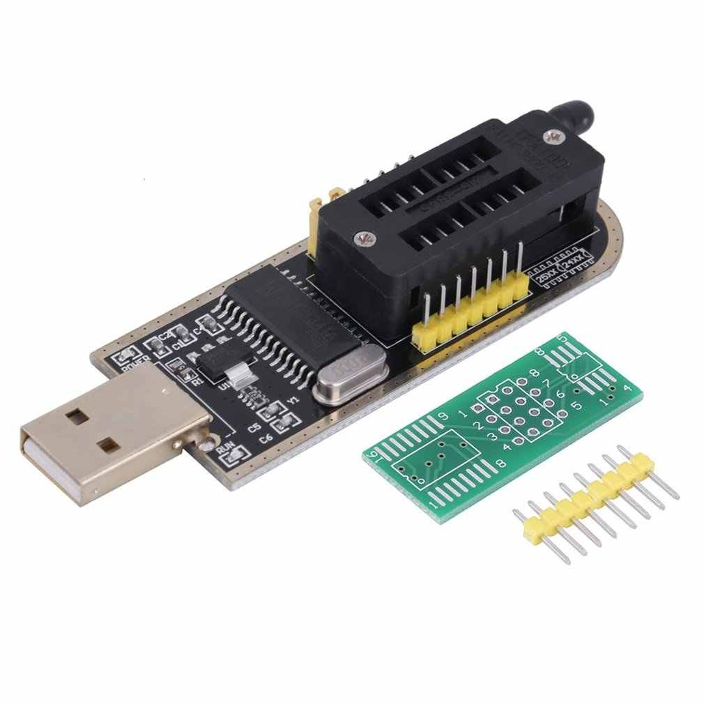 أسود وأصفر 25 SPI سلسلة 24 EEPROM CH341A BIOS الكاتب توجيه LCD فلاش USB مبرمج عملية سهلة مريحة