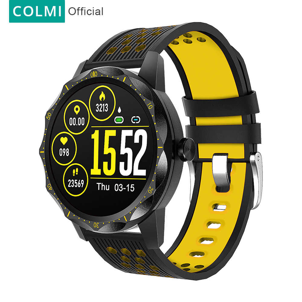 COLMI SKY 1 Pro Fitness tracker IP67 waterproof Smart watch Heart Rate Monitor Bluetooth Sport Men Smartwatch For iPhone Android
