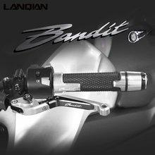 Для suzuki gsf650 мотоциклетные сцепные рычаги рукоятки для