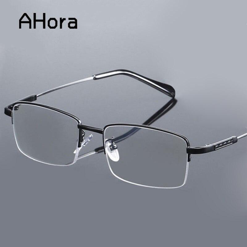 Ahora Progressiva Inteligente Multi Incidem Aolly Homens de Negócios Azul Claro Anti Óculos de Presbiopia Óculos de Leitura + 1.0 a + 4.0