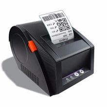 Imprimante d'étiquettes thermiques GP3120TU, impression de codes-barres, 20mm-82mm de largeur 80mm, impression de tickets de caisse