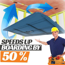 Carpenter-Tool Drywall-Fitting-Tool Positioning-Plate Plasterboard Ceiling-Sloped 2PCS