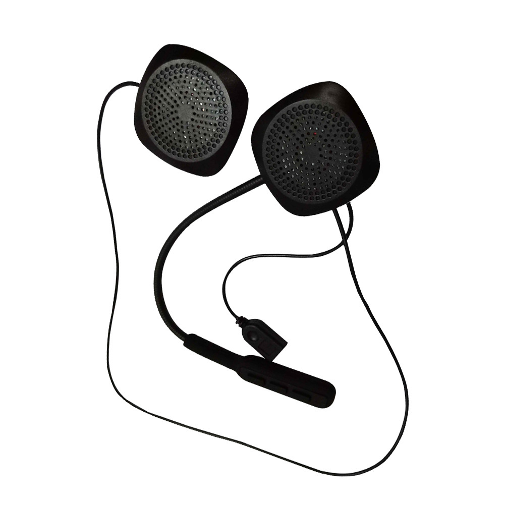 Long Standby Earphone Rechargeable Wired For Motorbike Helmet Headset Stereo Bluetooth Portable Ergonomic