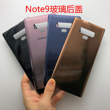 3pcs +for Samsung Galaxy Note 9/ Note9 SM-N960F N9600 Rear Housing Battery Back Door Cover Glass Repair Part back glass housing for samsung galaxy note 9 n9600 n960f rear battery cover outer camera lens front outer glass panel tools
