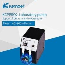 Kamoer KCP Pro-2 лабораторный Перистальтический дозирующий насос машина с адаптером питания используется для Химического Эксперимента